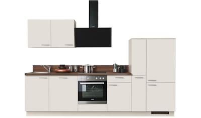 Express Küchen Küchenzeile »Scafa«, mit E-Geräten, vormontiert, mit Vollauszug und... kaufen