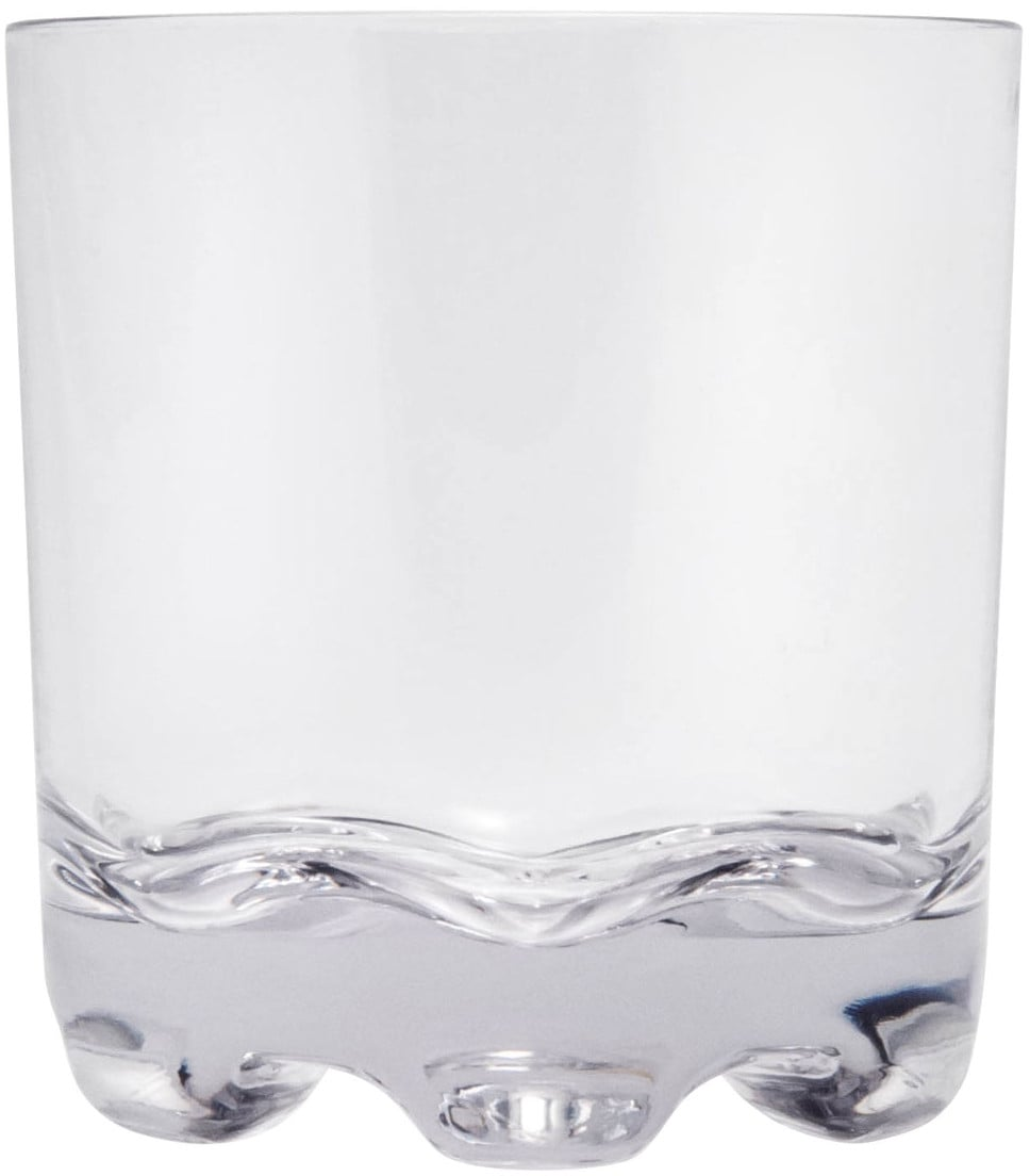 Q Squared NYC Whiskyglas, (Set, 6 tlg., x Gläser), 300 ml, 6-teilig farblos Whiskygläser Gläser Glaswaren Haushaltswaren Whiskyglas