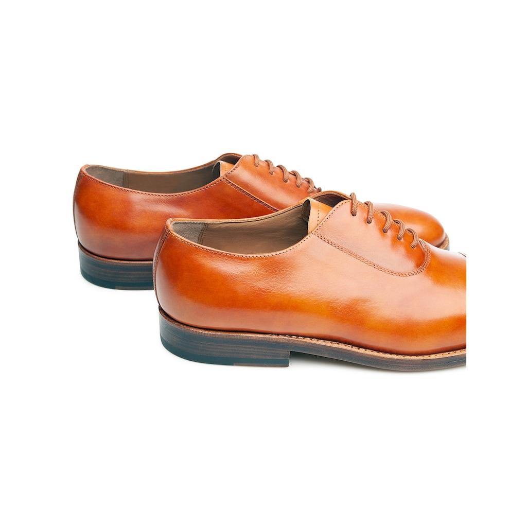 Heinrich Dinkelacker Schnürschuh »Luzern Captoe TC«, Wahre Schuhmacherkunst aus Budapest