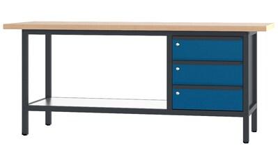 PADOR Werkbank »31 S 003/20 R«, B/T/H: 200x70x85,5 cm kaufen