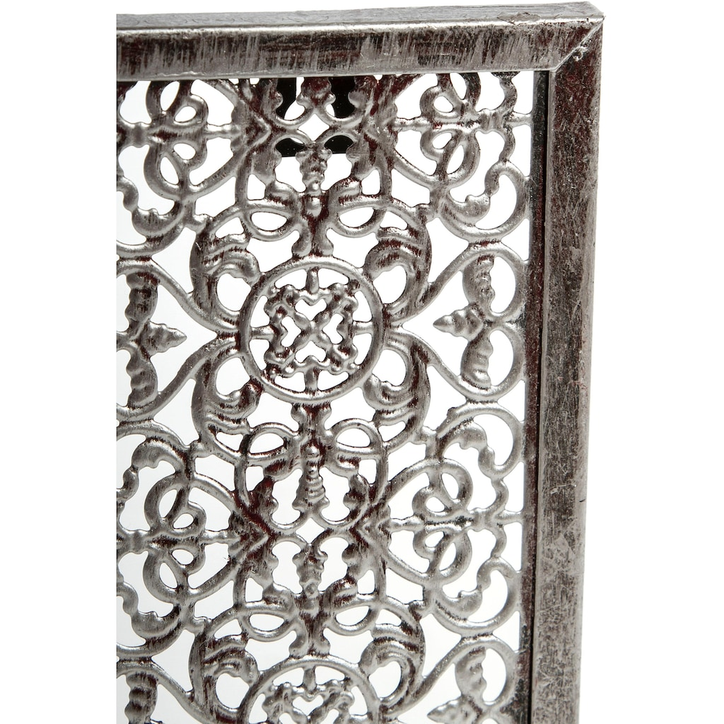 Home affaire Wandkerzenhalter »Rana«, Kerzen-Wandleuchter, Kerzenhalter, Kerzenleuchter hängend, Wanddeko, aus Metall