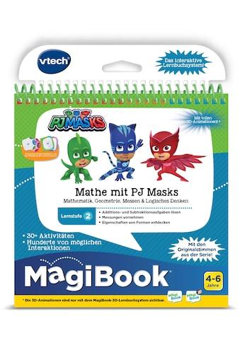 """Vtech® Buch """"MagiBook Lernstufe 2  -  Mathe mit PJ Masks"""" kaufen"""