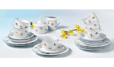 "Seltmann Weiden Kaffeeservice ""Sonate Streublume"" (20 - tlg.), Porzellan kaufen"