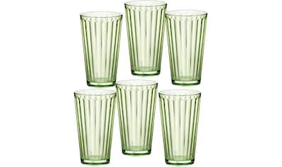 Ritzenhoff & Breker Longdrinkglas »Lawe«, (Set, 6 tlg., 6 Longdrinkgläser, je 400 ml),... kaufen