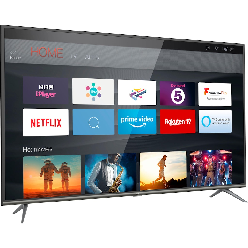 TCL 65EP644 LED-Fernseher (164 cm / (65 Zoll), 4K Ultra HD, Smart-TV