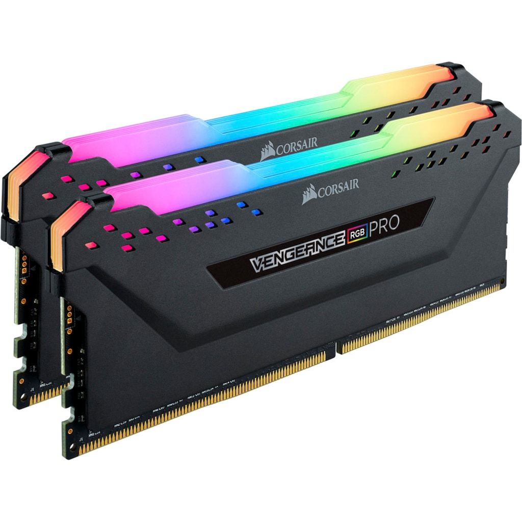 Corsair PC-Arbeitsspeicher »VENGEANCE® RGB PRO 16 GB (2 x 8 GB) DDR4 DRAM 3.600 MHz C18«
