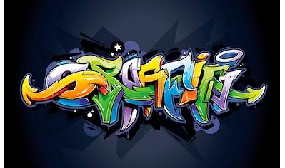 Consalnet Vliestapete »Buntes Graffiti«, verschiedene Motivgrößen, für das Büro oder... kaufen