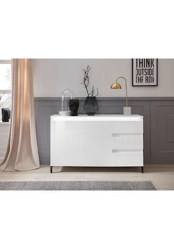 KITALY Sideboard »Genio«, Breite 138 cm, mit wendbare Blende kaufen
