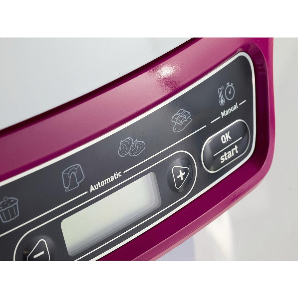 Tefal Kuchenbackautomat »Mini-Ofen KD8018 Cake Factory«, 5 Programme, 1200 W