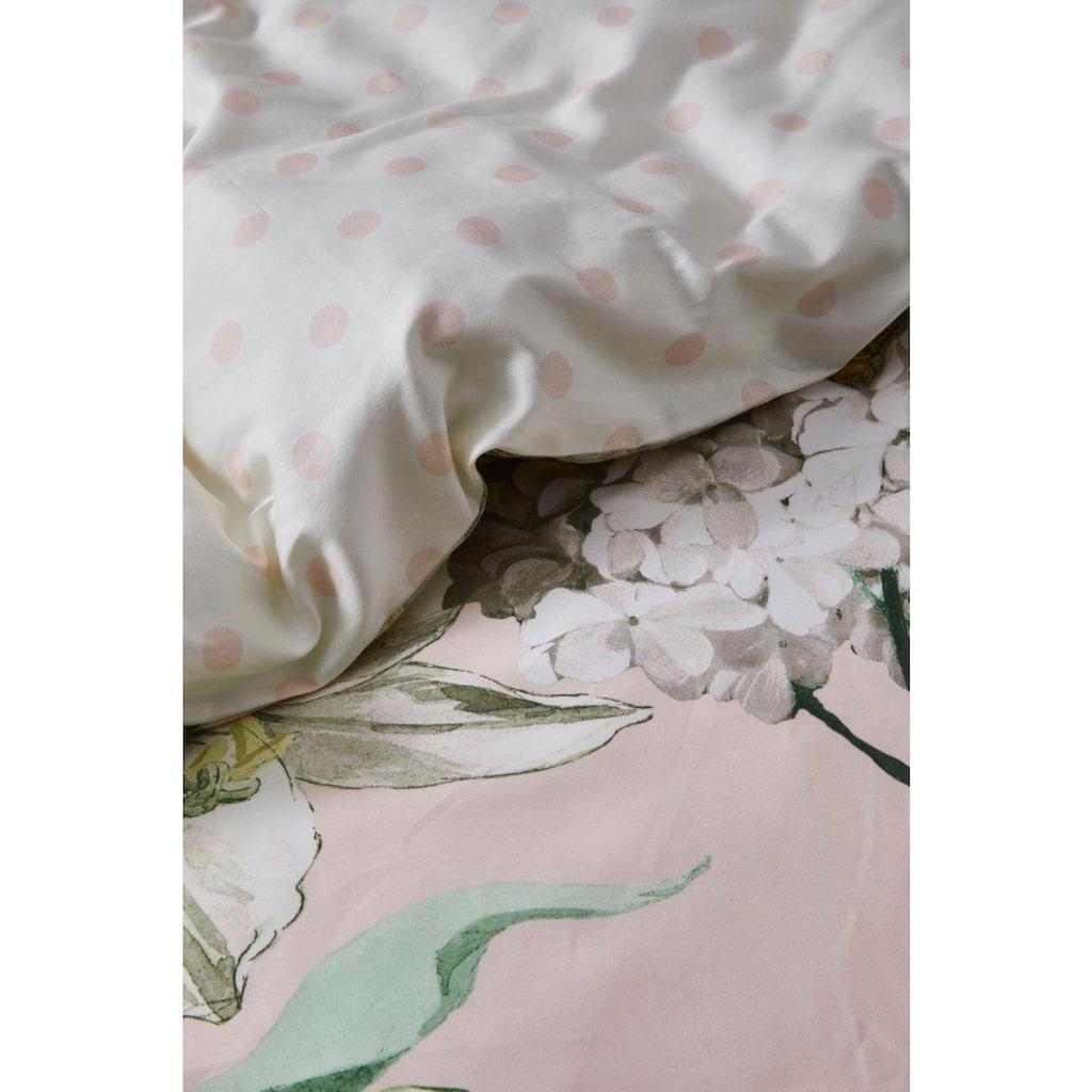 Essenza Wendebettwäsche »Rosalee«, mit holländischem Blumen-Muster