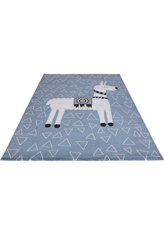 Festival Kinderteppich »Candy 153«, rechteckig, 11 mm Höhe, Motiv Lama kaufen