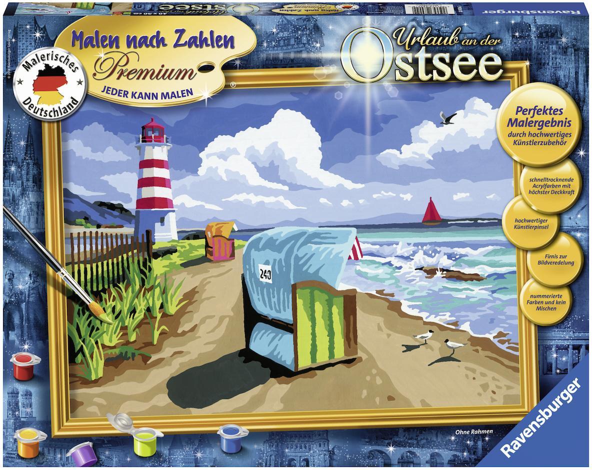 Ravensburger Malen nach Zahlen, »Urlaub an der ...
