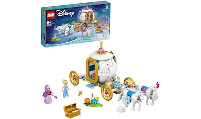 LEGO® Konstruktionsspielsteine »Cinderellas königliche Kutsche (43192), LEGO® Disney Princess™«, (237 St.), Made in Europe kaufen