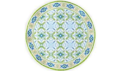 Q Squared NYC Speiseteller, (1 St., 1 x Servierplatte), Ø 40 cm, Melamin kaufen