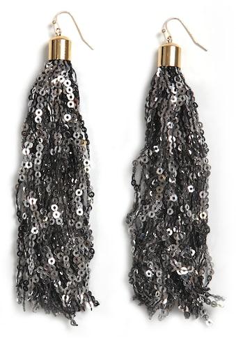 COLLEZIONE ALESSANDRO Paar Ohrhaken »O2824-F102«, mit Pailletten kaufen