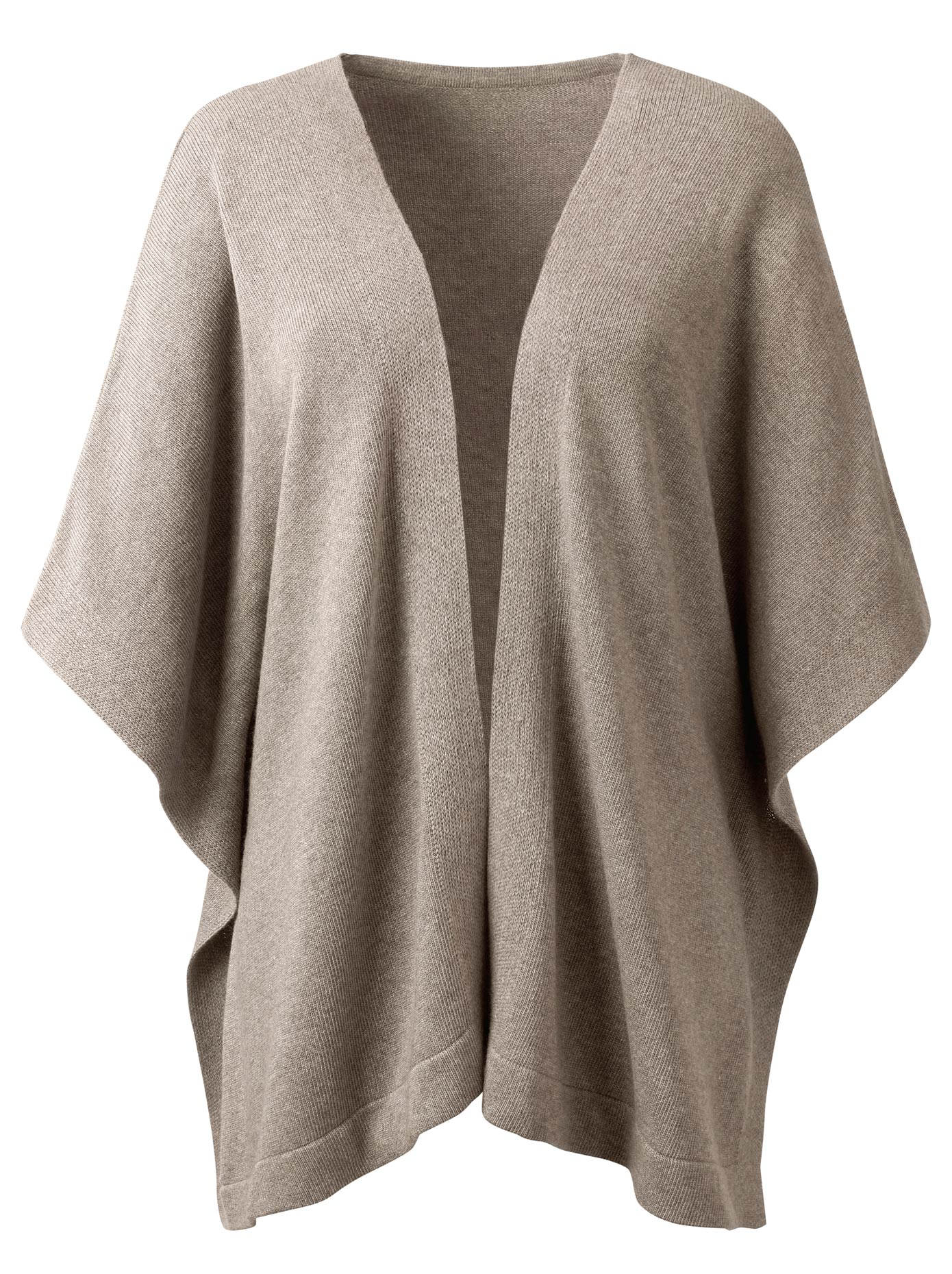 Lady Strickponcho in erstklassiger Qualität | Bekleidung > Pullover > Ponchos & Capes | Lady