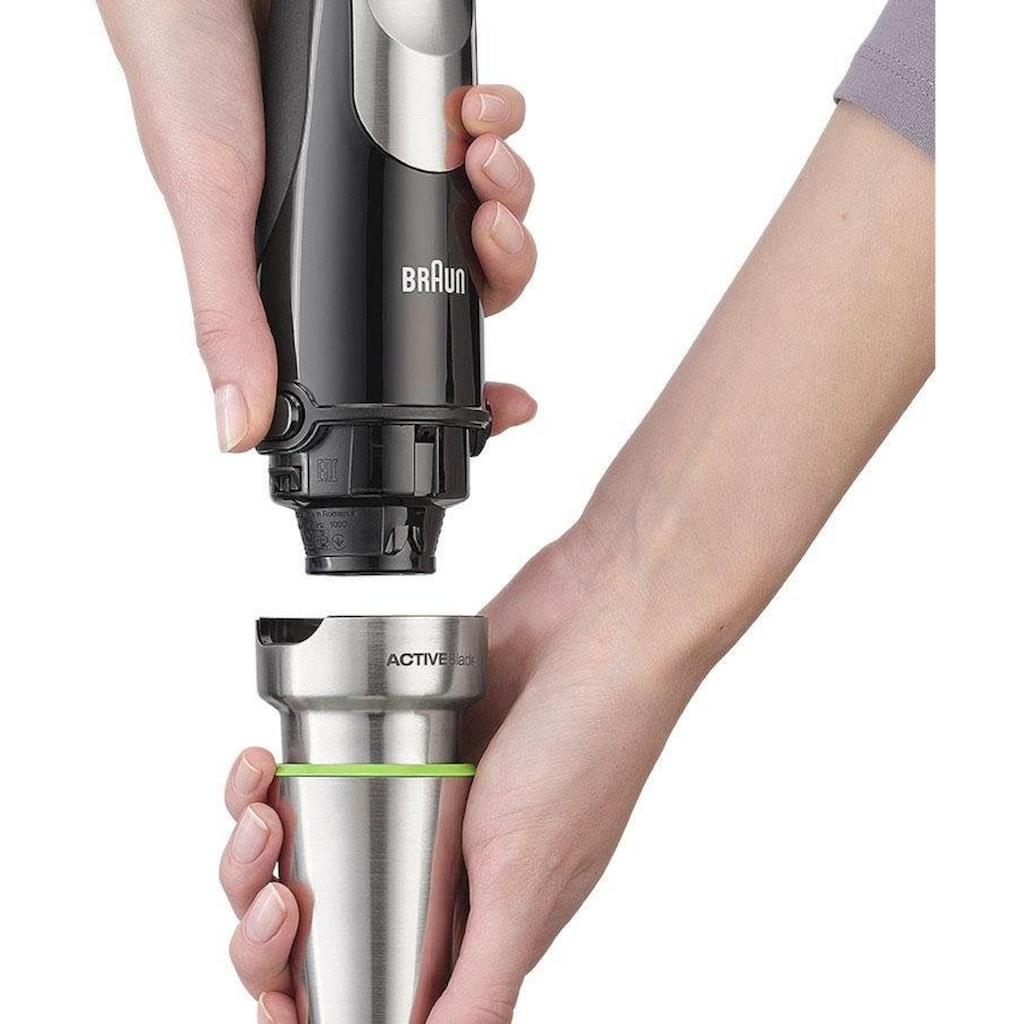 Braun Stabmixer »MQ 9027X Multi Quick 9«, 1000 W, mit ACTIVEBlade Technologie