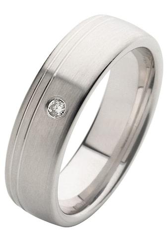 Firetti Trauring mit Gravur »längs gebürstet, Diamantschnitt, 6,0 mm breit«, Made in... kaufen