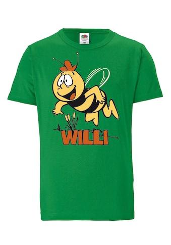 LOGOSHIRT T-Shirt »Die Biene Maja – Willi«, mit lizenziertem Originaldesign kaufen