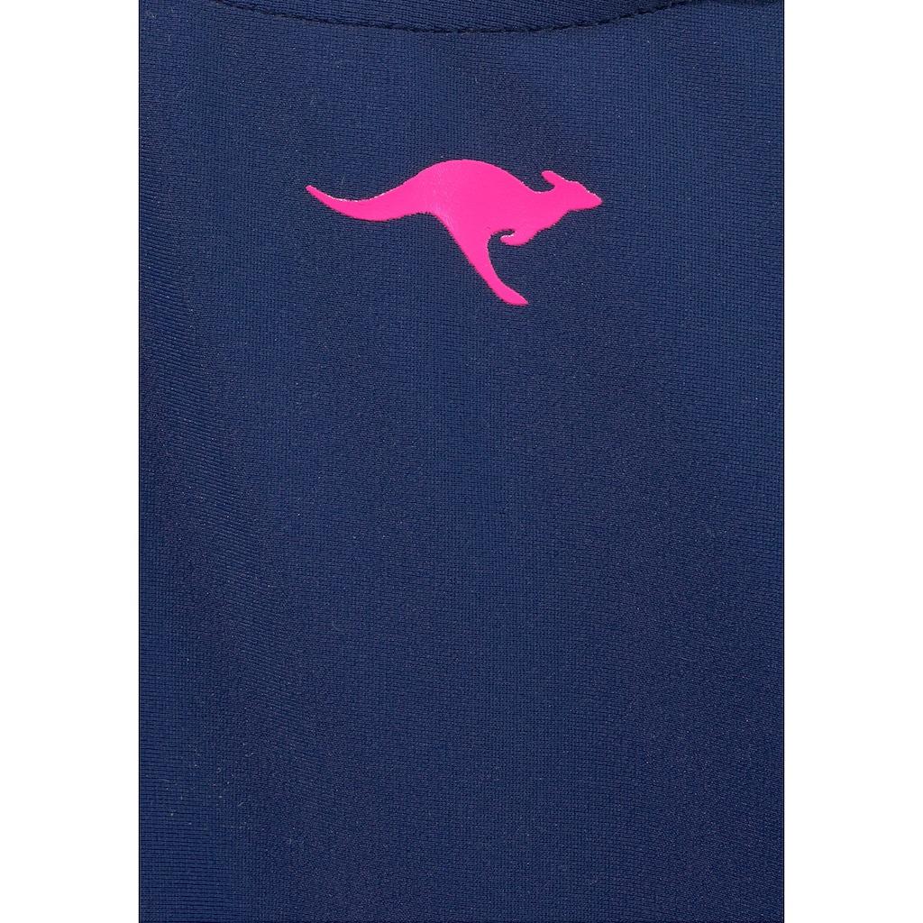 KangaROOS Badeanzug, mit Ringerrücken