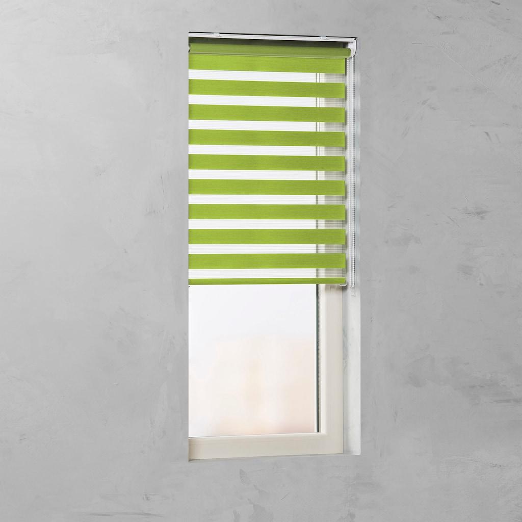GARESA Doppelrollo »Duo-Rollo«, Lichtschutz, energiesparend, freihängend, Lichtregelung leicht gemacht
