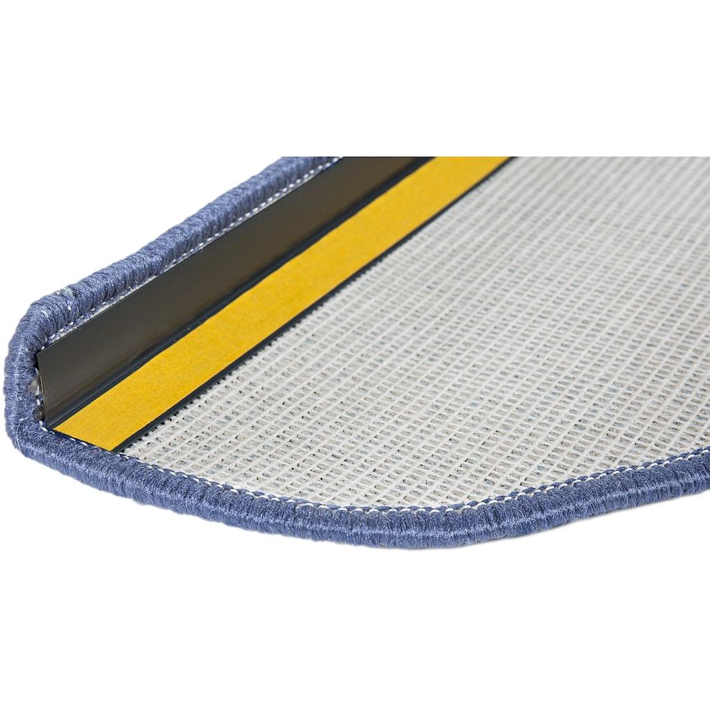 Andiamo Stufenmatte »Bob«, halbrund, 4,5 mm Höhe, Set mit 2 Stück oder 15 Stück, melierte Schlinge