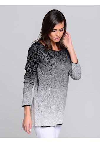 Alba Moda Pullover in Dégradé-Strick kaufen