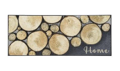 Fußmatte Holz, waschbar kaufen