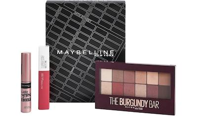 MAYBELLINE NEW YORK Augen-Make-Up-Set »Lidschatten und Lippenstift mit gratis Mini... kaufen