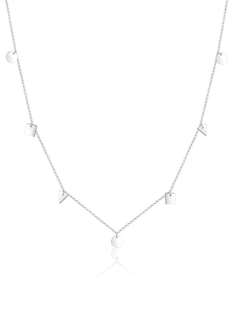 Elli Collierkettchen »Dreieck Viereck Kreis Geo Erbskette 925 Silber« kaufen