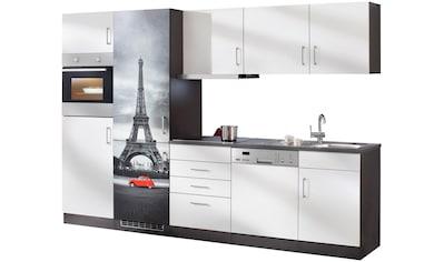 HELD MÖBEL Küchenzeile »Paris«, mit E - Geräten »Paris«, Gesamtbreite 290 cm kaufen