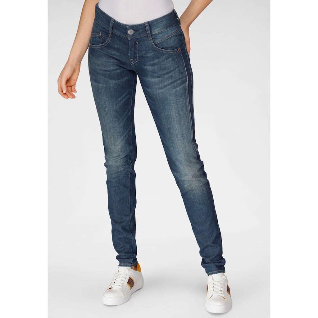 Herrlicher Slim-fit-Jeans »GILA SLIM CASHMERE«, mit Figur streckendem Beinverlauf