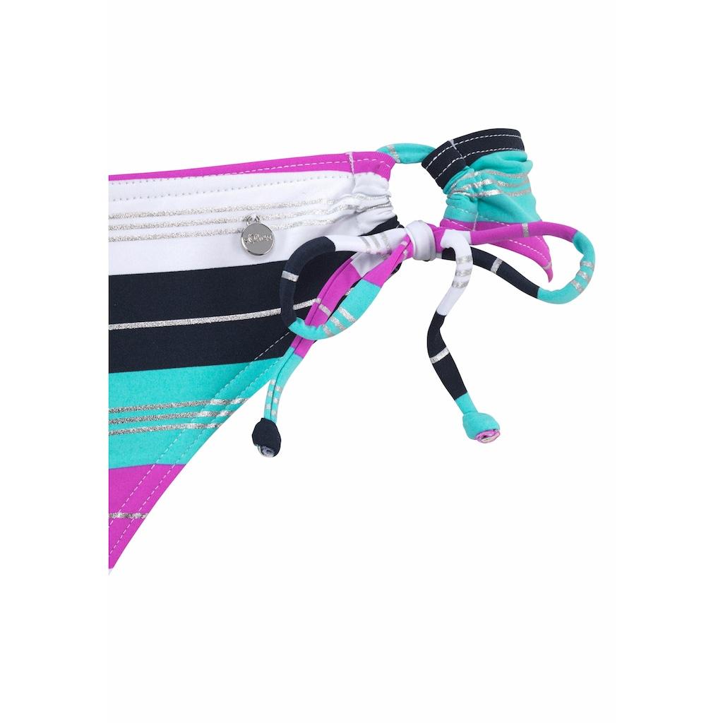 s.Oliver Beachwear Triangel-Bikini, mit seitlichen Bindebändern