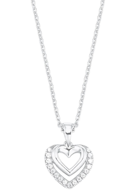 Amor Kette mit Anhänger Herzen 2026252 | Schmuck > Halsketten > Herzketten | Amor