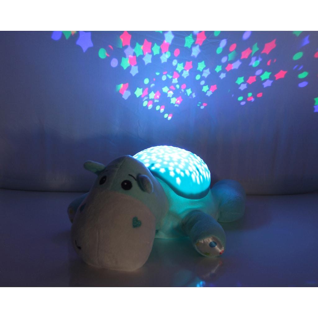 Jamara Kuscheltier »Sternenlicht Dreamy, Nilpferd«, mit Licht und Sound