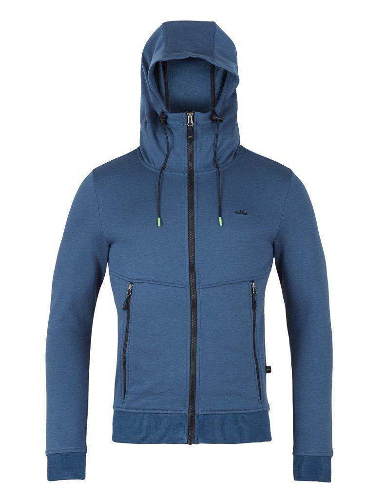Jeff Green Kapuzensweatjacke Jere | Bekleidung > Sweatshirts & -jacken | Blau | Jeff Green
