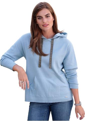 Emilia Lay Kapuzensweatshirt »Kapuzen-Pullover«, Emblem kaufen