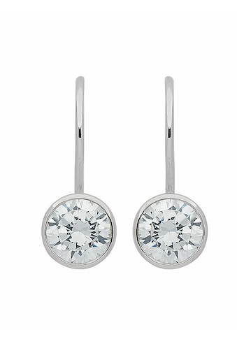 Adelia´s Paar Ohrhänger »925 Silber Boutons mit Zirkonia Ø 7 mm« kaufen