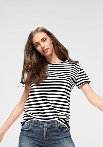 AJC T-Shirt, im lässigen Streifen-Design kaufen