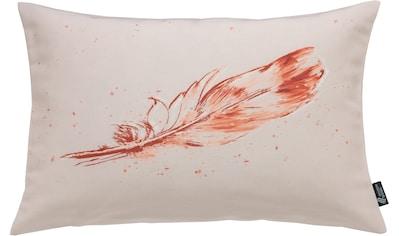 Kissenhülle, »Tempera Feder«, emotion textiles kaufen
