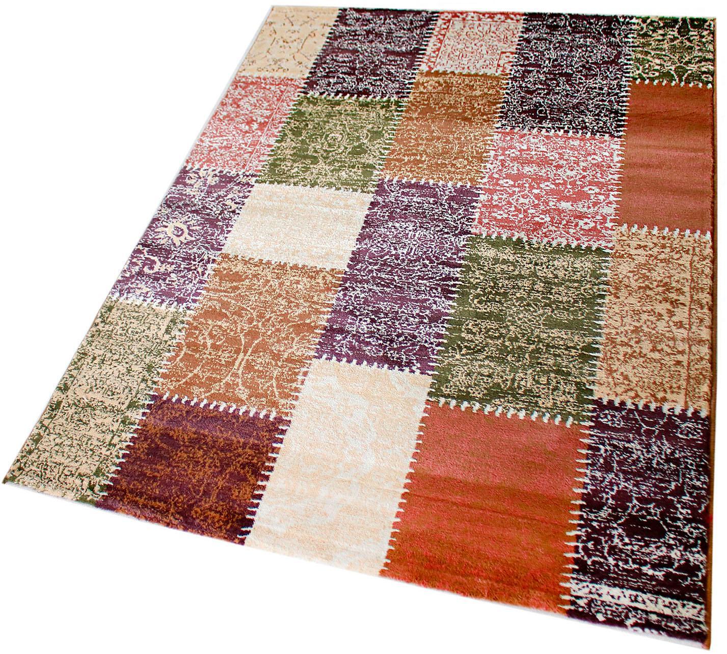 Teppich Maya 3820 Sehrazat rechteckig Höhe 11 mm maschinell gewebt