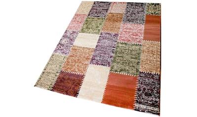 Teppich, »Maya 3820«, Sehrazat, rechteckig, Höhe 11 mm, maschinell gewebt kaufen