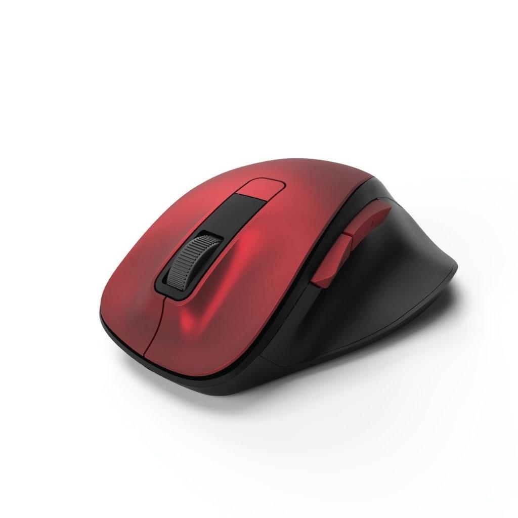 Hama Leise PC Funk Maus, kabellose Computermaus, 800-1600 dpi