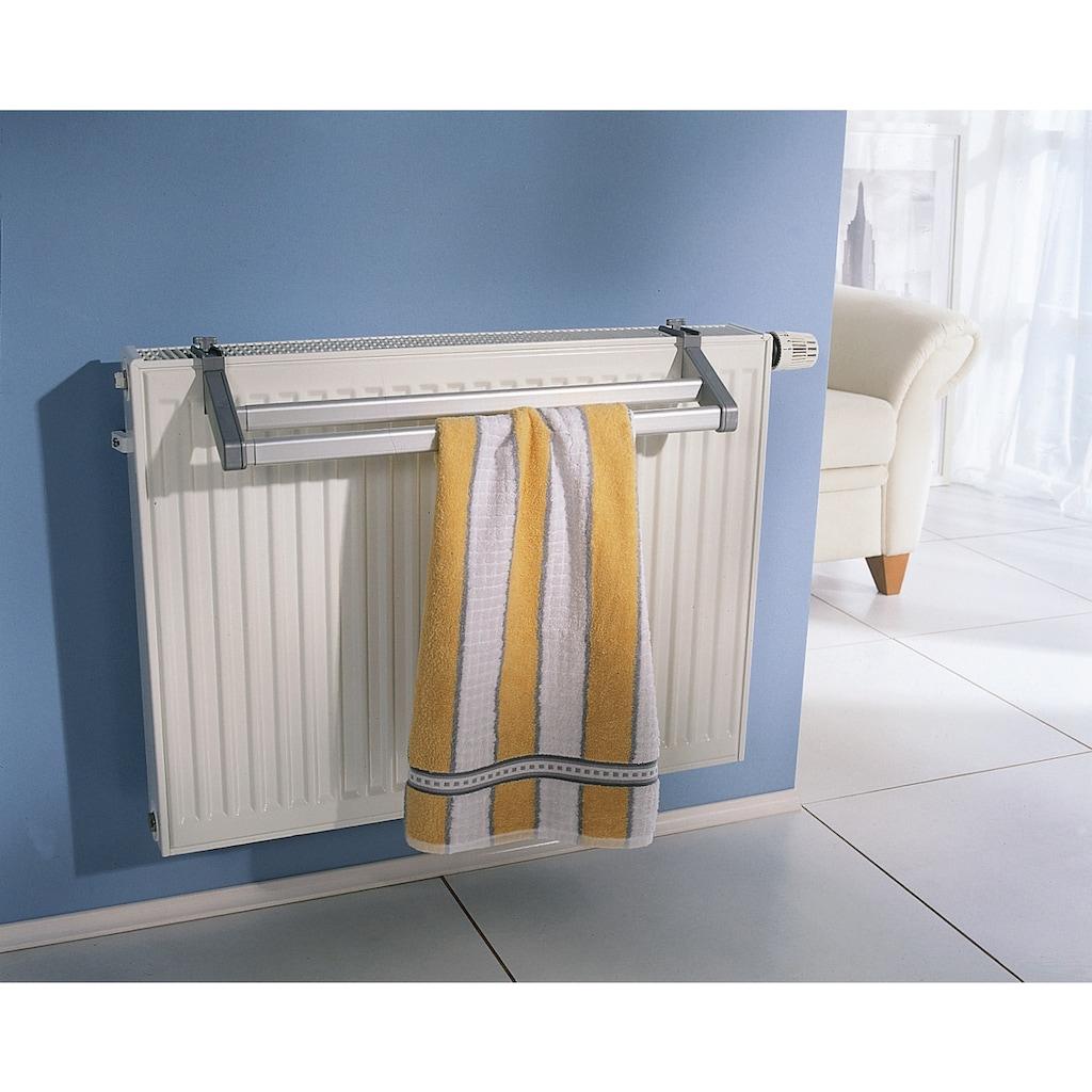Ruco Heizkörper-Wäschetrockner »Perfect«, 2er-Set, Aluminium/Kunststoff, verstellbare Breite