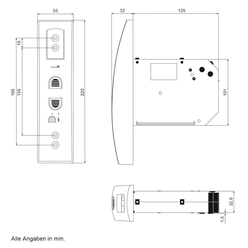 SCHELLENBERG Elektrischer Rollladen Gurtwickler »Rollodrive 45«