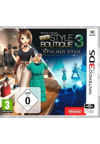 Nintendo 3DS Spiel »New Style Boutique 3 - Styling Star«, Nintendo 3DS kaufen
