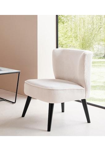 LeGer Home by Lena Gercke Sessel »Sarina«, In 2 Bezugsqualitäten, Sitz und Rücken gepolstert kaufen