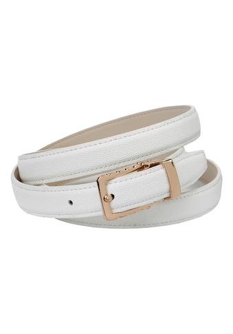 Anthoni Crown Ledergürtel, in schmaler Form mit eleganter Dornschließe kaufen