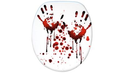 Sanilo WC-Sitz »Blood Hands«, mit Absenkautomatik kaufen
