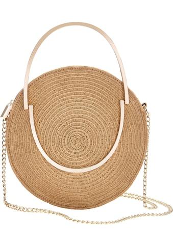 LASCANA Umhängetasche, kleine Strandtasche aus Bast kaufen